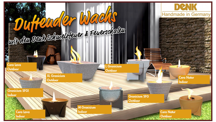 denk schmelzfeuer indoor und outdoor kerzenrecycling. Black Bedroom Furniture Sets. Home Design Ideas